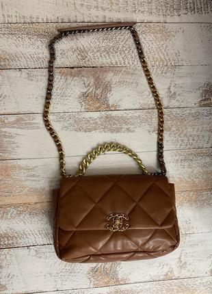 Шикарная сумка шанель мягкая chanel