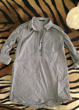 Рубашка длинная