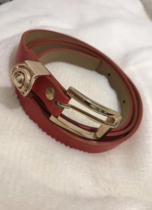 Красный ремешок , ремішок , ремень