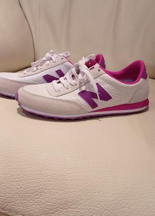Оригинал new balance белые кроссовки 39-40