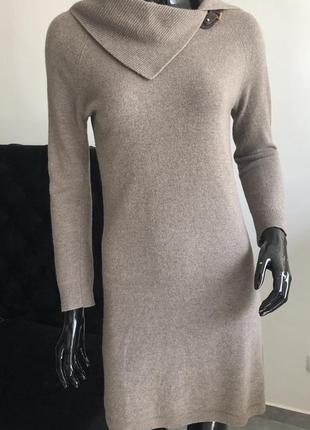 Тёплое платье шерсть, кашемир massimo dutti
