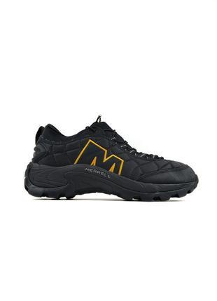 Стильные женские кроссовки merrell moc 2 black orange