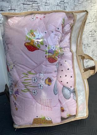 Зимнее детское одеяло