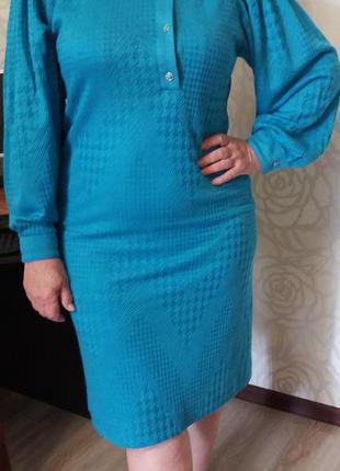 Платье с оригинальным принтом