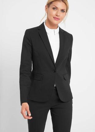 Черный жакет пиджак orsay