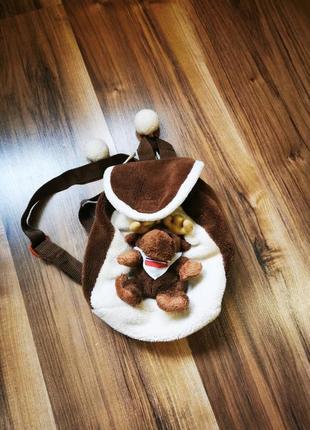 Детский рюкзак на завязках олень