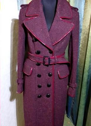 Пальто тренч burberry prorsum шерстяное.