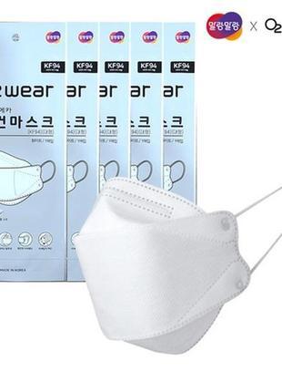 Корейская защитная маска респиратор kf94