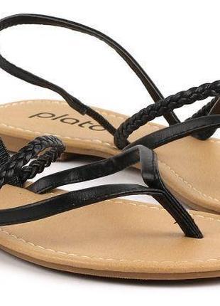 Стильные женские сандалии, вьетнамки plato!!! jc2136