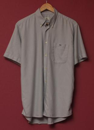 Lacoste 41 l рубашка из хлопка