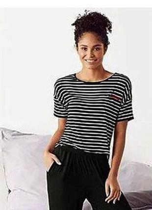 Женская пижамная футболка s 36/38 евро esmara, германия