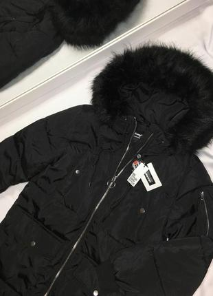 Зимний тёплый новый пуховик куртка размер м