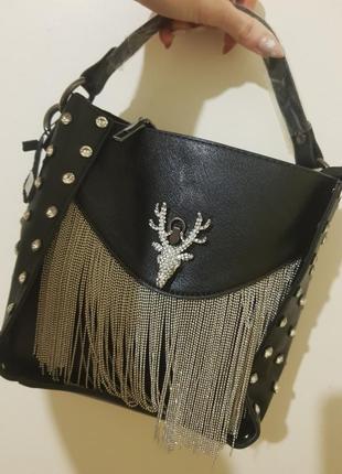 Крутая сумочка с оленем
