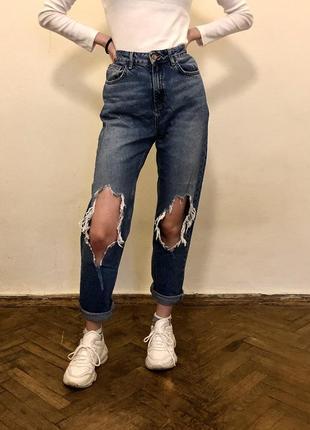 Безумно крутые джинсы new look в идеальном состоянии