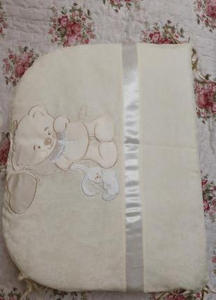 Бортики в кроватку для новорожденного