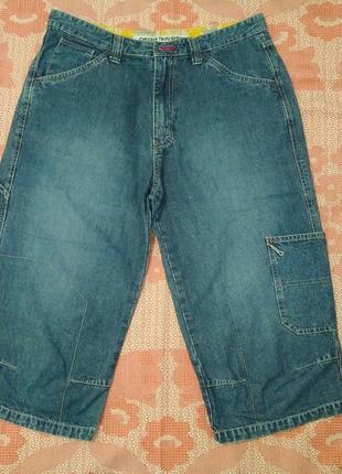Бриджи джинсовые checker trousers