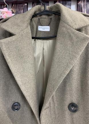 Пальто шерстяное8 фото