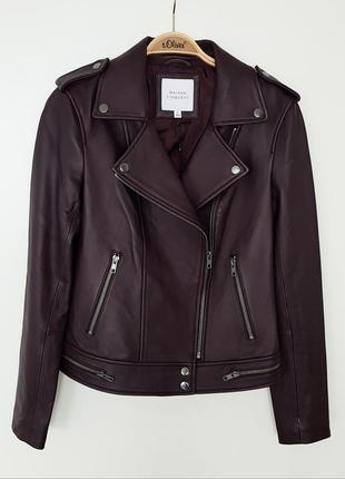 Натуральная кожа р.s(36) новая куртка - косуха.