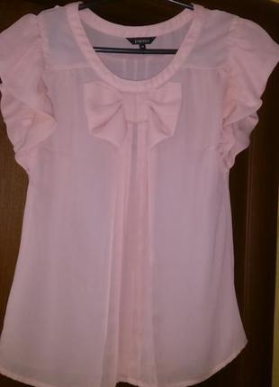 Легкая нежная воздушная свободная блуза