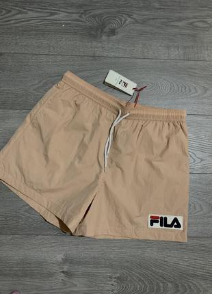 Fila, мужские фирменные плавательные пляжные шорты, р. xl, l. оригинал