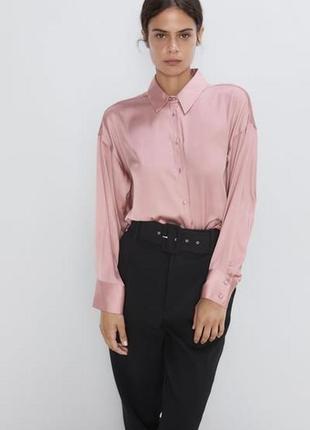 Красивая нежная блуза zara