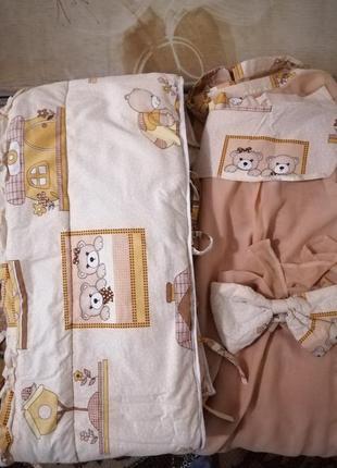 Защита на кроватку и балдахин