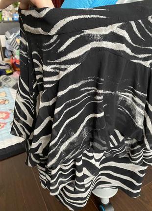Шикарная юбка zara, xs