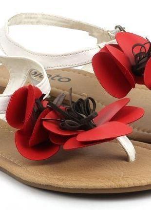 Очень красивые сандалии с маками фирмы plato!!! jc2184