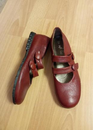 Немецкие, кожаные, женские балетки, балеточки, лоферы, туфельки, сандалии, босоножки