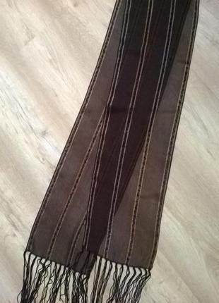 Шикарный шарфик с торочками