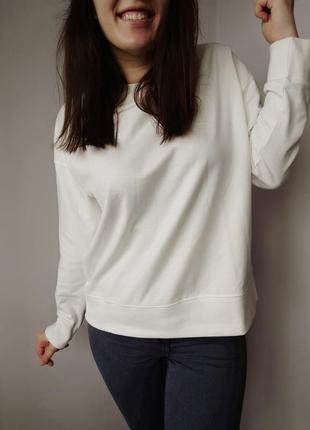 Женский базовый свитшот, кофта, байка, свитер