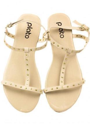 Шикарные женские сандалии, вьетнамки фирмы plato!!! jc2799