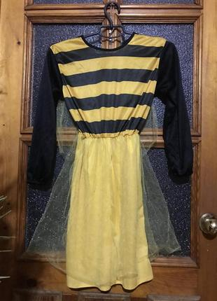 Карнавальное платье пчела для утренника, вечеринки