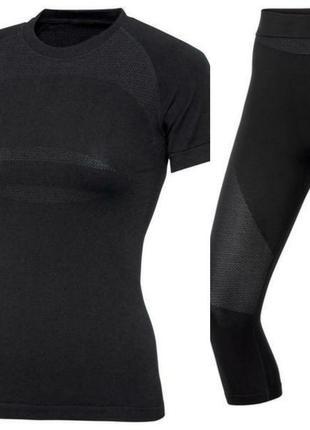 Функциональный термо комплект термобелье термо футболка капри  crivit pro s, m, l