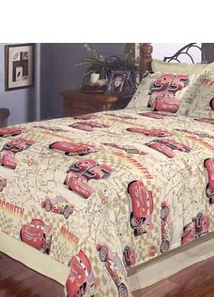 Детский постельный комплект молния маквин