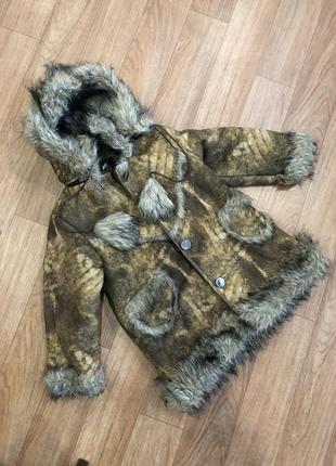 Дублёнка / зимняя куртка на девочку