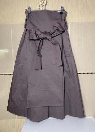Дизайнерская юбка на запах cos