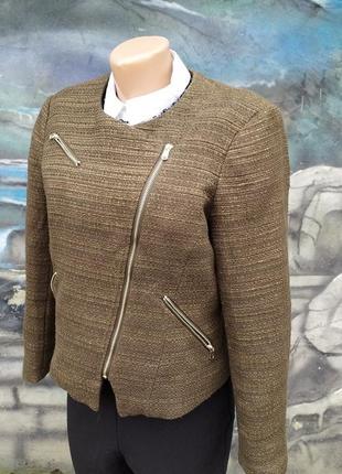 Тканевая куртка курточка косуха