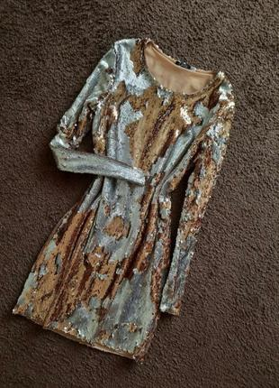 Плаття платье пайетки паєтки