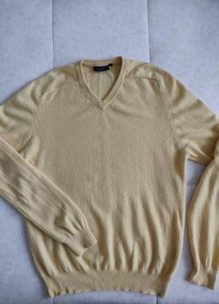 Кашемировый джемпер свитер полувер премиум бренд jj benson