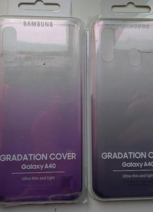 Чехол для смартфона samsung gradation cover a40