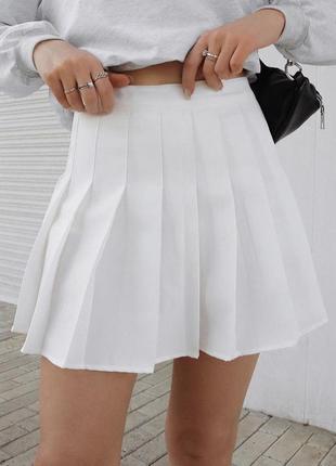 Белая юпка