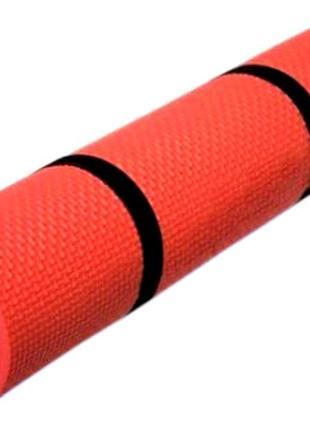Фітнес килимок lanor rose фитнес коврик каремат 180*60*5 см