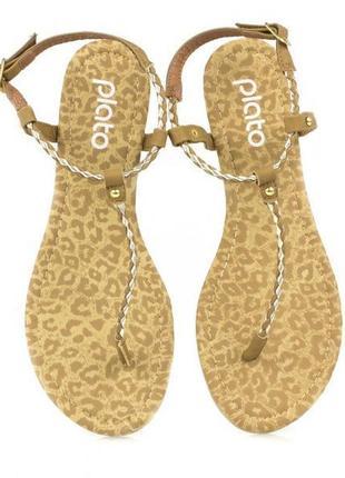 Шикарные женские сандалии, вьетнамки фирмы plato!!! jc2880