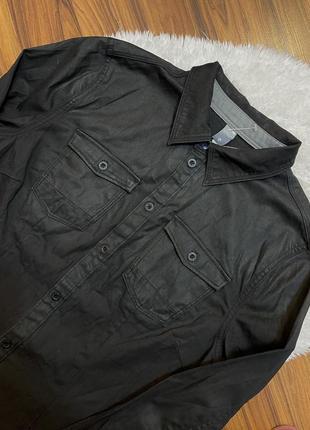 Стильная приталенная рубашка g-star raw размер l
