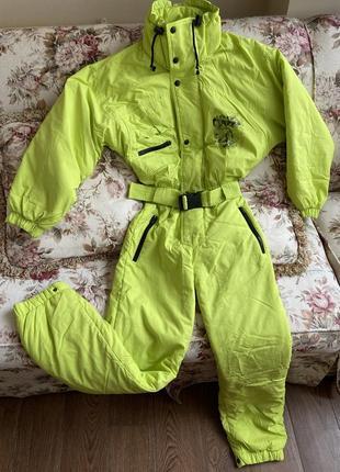 Комбінезон комбинезон костюм для катания brugi для катання яркий яскравий