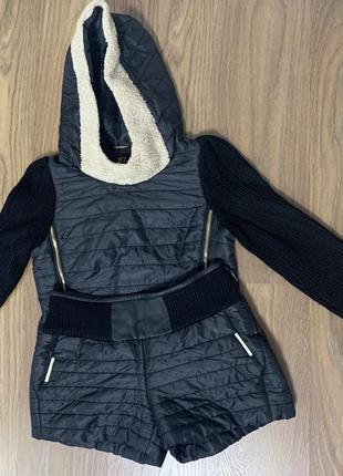 Осенний костюм куртка/шорты