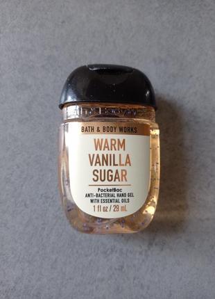Санитайзер warm vanilla sugar bath & body works
