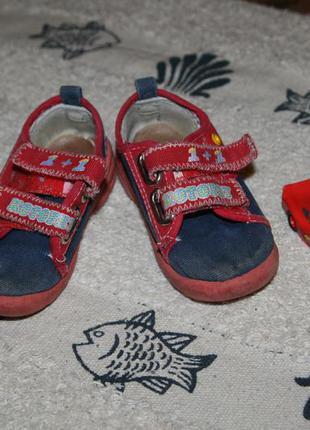 Туфли на липучках кроссовки котофей