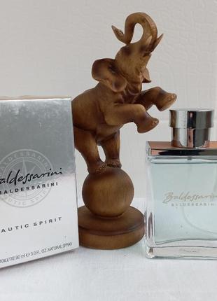 Baldessarini nutic spirit балдессарини одеколон для мужчин духи парфюм
